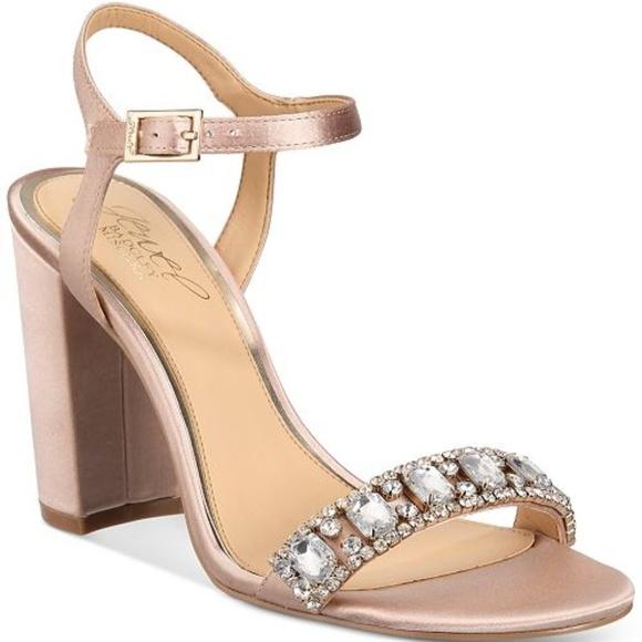 cb064654040 Badgley Mischka Shoes - BN Badgley Mischka Jewel Hendricks Block Heel Shoe